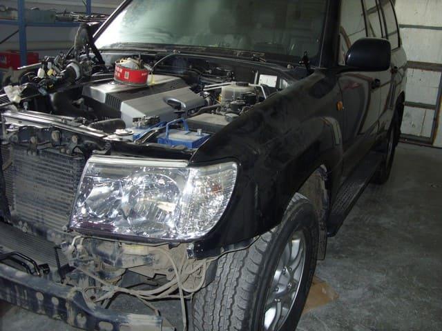 фото ремонт кузова тойота