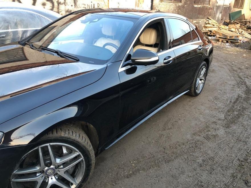 фото после ремонта Mercedes