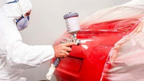фото покраски багажника